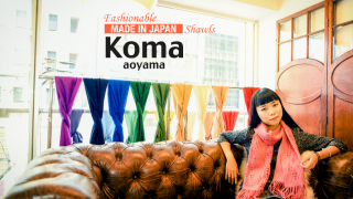 Japanese Fashion Brand Koma aoyama ⦿ High Quality Japanese Shawls Are This Years Trend