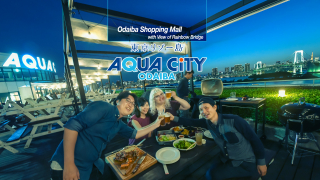 ●Odaiba Points of Interest● More Than Just a Shopping Mall | AQUA CiTY ODAIBA