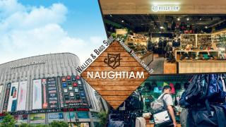Cửa hàng NAUGHTIAM, chuyên bán các loại túi, ví da hàng đầu Nhật Bản