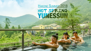 Japanese Hot Springs that Allow Bathing Suits ♨ Hakone Kowakien YUNESSUN