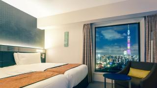 도쿄 인기관광지 아사쿠사를 한눈에 내려다 보는 호텔!!