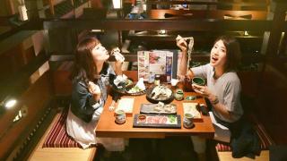 Ăn Sushi Ở Nhà Hàng Đậm Phong Cách Thời Edo- TOFURO YUMEMACHI KOUJI