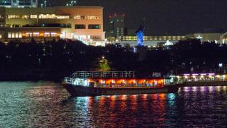 夜景與美食同行 屋形船釣新丸上的東京Friday Night