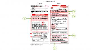 [MIRAI 일본유학 이야기] 일본에서 부재중 택배, 우편 받는법!