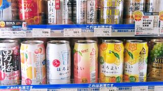 일본 편의점 신상! 호로요이(ほろよい) 한정판, 복숭아맛 피치 코카콜라&한정판 벚꽃 코카콜라