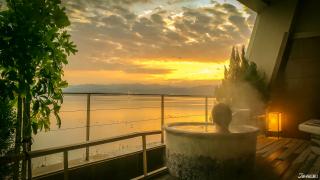 유서깊은 온천지 가나자와에서 품격있는 휴양을...! 카가 가타야마즈 온천 리조트 가수이쿄(佳水郷)