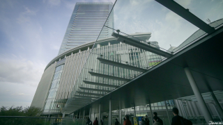 Large Shopping Complex in Front of Osaka Station: Grand Front Osaka