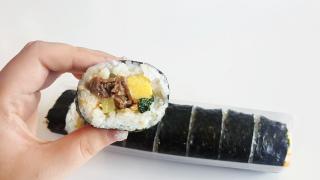 일본 무인양품(無印良品)의 '한국 냉동김밥'을 먹어보다!