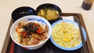 일본의 3대 규동 체인점 '마츠야(松屋)' 이용방법 및 추천메뉴