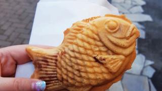 도쿄 길거리음식, 고구마 붕어빵(さつまいもあん)!
