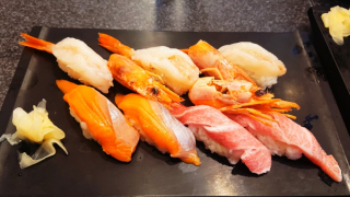 일본의 맛있는 스시 체인점, '스시잔마이(すしざんまい)'