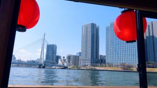아사쿠사에서 배타고 도쿄구경하기! 스미다강을 가로지르는 크루즈 '쓰리신(TSURISHIN)'