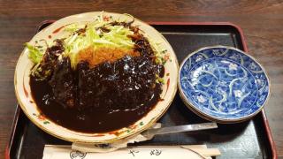 오기오하시역 레트로 소바가게 '소바카야부(そば処やぶ)'