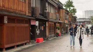 가나자와 3대 찻집거리 중 한 곳 '니시차야(西茶屋)'를 아시나요?