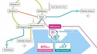 우에노역에서 도쿄 디즈니랜드 가는방법!