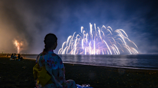 The Tateyama Fireworks Festival: A Must-See Event, Right over Tateyama Bay