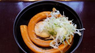 일본의 독특한 우동! 면이 한 줄로 되어 있는 잇뽄우동(一本うどん)