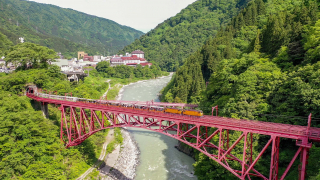 This Destination Comes Highly Recommended: Toyama's Kurobe Gorge, Full of Picturesque...
