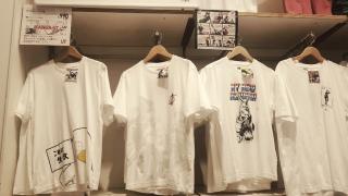 일본 유니클로X소년점프 콜라보레이션 티셔츠