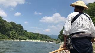 到埼玉的長瀞峽谷 遊船看赤壁