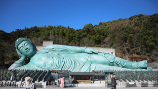 세계 최대 와불상이 있는 곳 '난조인(南蔵院)'