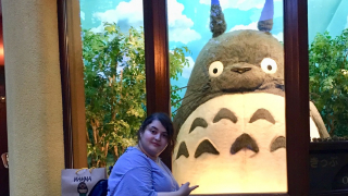Chilling with Totoro at the Mitaka Ghibli Museum