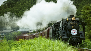 The Good Old Steam Locomotive Trains in Saitama