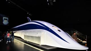 나고야의 일본 철도박물관 '리니어・철도관'
