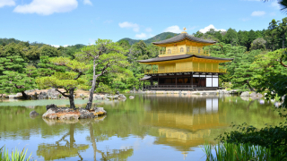The Rokuonji Temple and The Golden Pavilion (Kinkakuji)