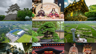 Portable Shrines and Permanent Shrines in Chichibu, Saitama