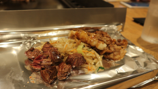 Fukuoka's Famous Local Cuisine, Horumon Teppanyaki