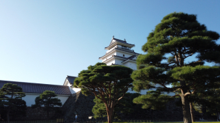 The Tsurugajo in Aizu Wakamatsu with Beautiful Garden and Tea Rooms