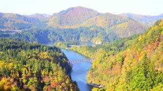 【2019日本全國紅葉特集】東北 - 絕境鐵道美景「只見線」