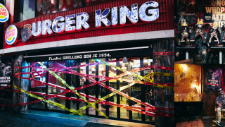 An Abandoned Burger King in the Centre of Tokyo? The Burger King Shibuya Ghost Store