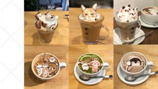 位於淺草與藏前之間的自選超強3D咖啡拉花 日本超高人氣HATCOFFEE為你帶來各種可愛拿鐵拉花藝術