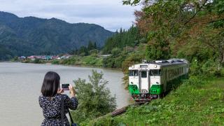 最靠近世界絕景只見線的一瞬間 福島金山町超滿足二日遊