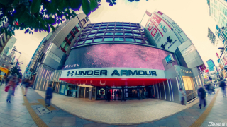 Under Armour in Tokyo! The Huge & High-Tech Under Armour Brand House Shinjuku