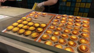 텐진 지하상가 1 초에 1 개 팔리고 있는 치즈 타르트! 'BAKE CHEESE TART'