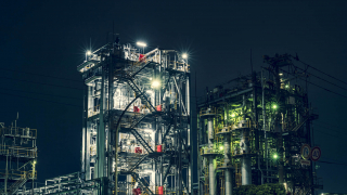 The Curious Industrial Beauty of Kawasaki Port's Nightscapes