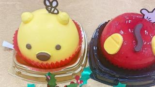 日本7-11便利店推出一週限定甜品 迪士尼米奇圓滾滾屁股與超級可愛小熊維尼迷你蛋糕