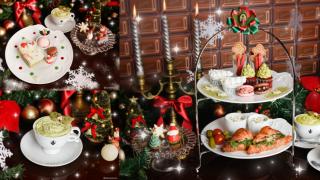 有超夢幻甜點咖啡廳之稱的Q-POT CAFE 已經為你準備好聖誕限定下午茶