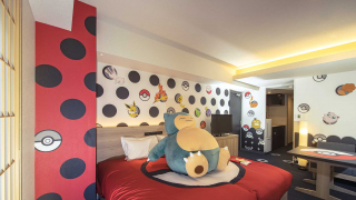 Pika-Peek Into One of the Official Pokémon Rooms at APARTMENT HOTEL MIMARU