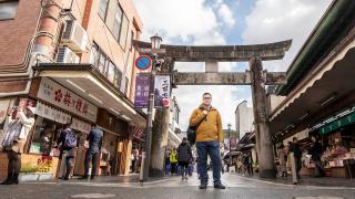 Shopping d'hiver et une aventure en extérieur à Arc'teryx à Fukuoka