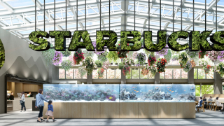 Opening This March, Japan's First Botanical Garden Starbucks, Hosted by Yomiuriland:...