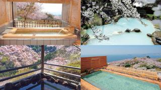 봄에 가고싶은 벚꽃 절경 온천 랭킹 TOP5!