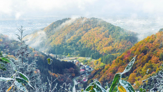 Yamagata - Jakushoji Temple - A Mountaintop View of Tendo