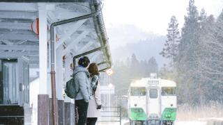 【再見日本】福島:會津若松 雪中只見線車站