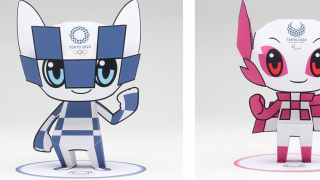 Stay Home & Craft Your Own Tokyo 2020 Olympic Mascots ~ A Little Japanese Quarantine Fun...