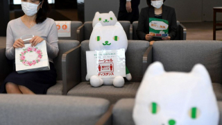 Kawaii Social Distancing in Japan - Stuffed Toys Are Keeping COVID-19 at Bay at Banks,...