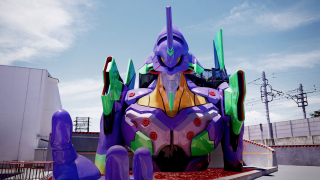 A Full-Size Evangelion EVA Unit-01 Has Appeared in Kyoto!